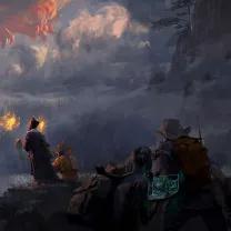 川美98后男生靠画龙火上热搜,从未见过神明,却亲眼目睹神迹!