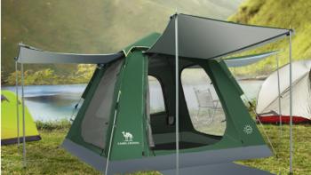 """骆驼""""宝藏""""帐篷推荐!去露营,选对帐篷很重要!"""