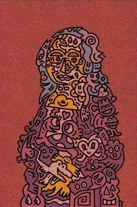 现代凯斯·哈林,强迫症患者的救星,密集恐惧症患者的噩梦