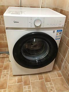 夏日居家好物之——美的滚筒全自动洗衣机