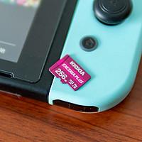 为了4K录制,我买了铠侠EXCERIA PLUS 256G的microSD存储卡