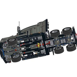 这可能是乐高积木科技系列卡车头最好的套装