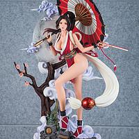 玩模总动员:月下女忍,TriEagles Studio不知火舞雕像评测
