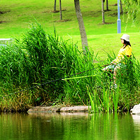 露营是趣味、钓鱼是上瘾,驮着装备以露营的名义去钓鱼吧!