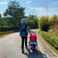 婴儿推车、婴儿背架、野餐垫、俄罗斯方块气垫、奶爸背包—新手奶爸带娃一起嗨