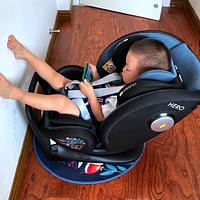普通人家养孩子 篇十八:二胎妈妈i-Size安全座椅初体验,附欧颂HERO探索号开箱实测