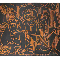 毕加索画作将于阿里在线拍卖,最贵一件800万元起拍