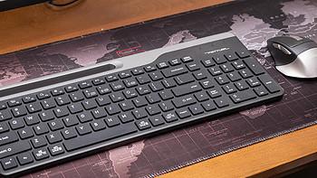 打通手機電腦平板輸入界限-雙飛燕飛時代藍牙多模鍵盤FBK25評測