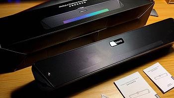 消费降级:¥59块9国产RGB回音壁蓝牙无线音箱晒单,中看中用否?