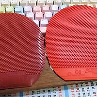 同样是长胶丨红大妈C8和大维388d-1有何不同
