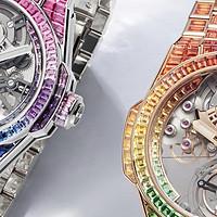 宇舶表推出Big Bang Integral Tourbillon Rainbow彩虹腕表