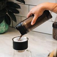 兔牙咖啡馆 篇四十一:Shake Shake摆脱咖啡细粉困扰,FELLOW Shimmy筛粉器使用体验