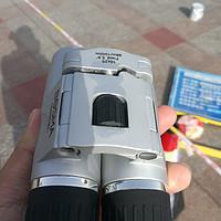 博冠冲浪10×25屋脊双筒便携望远镜开箱测评