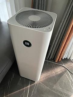 晒晒性能强劲的米家空气净化器pro