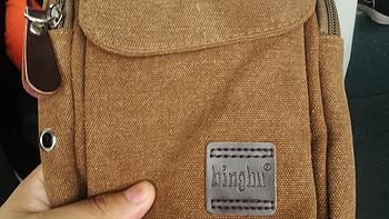 23包邮的BINGHU iPad mini单肩背包开箱测评