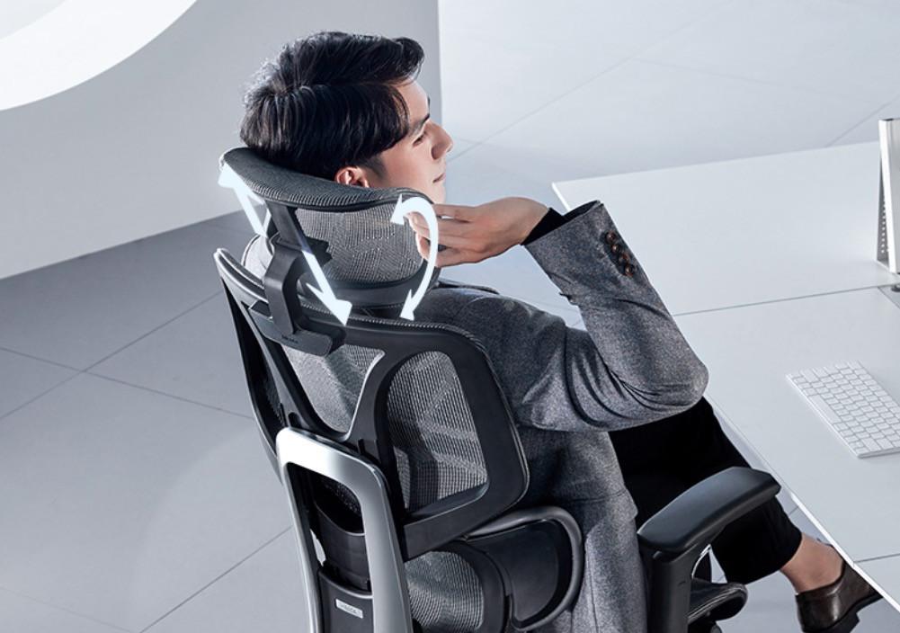 久坐也舒服~ 黑白调E3人体工学椅,时刻给你3D环抱式承托