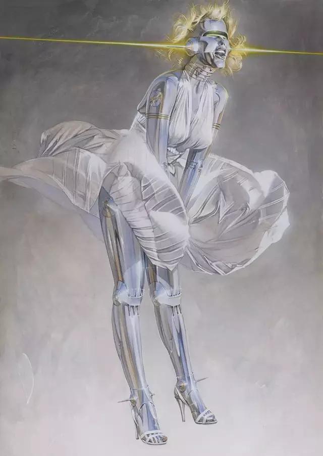 空山基 :性感美艳机械姬,通往未来的机械美学|艺术家