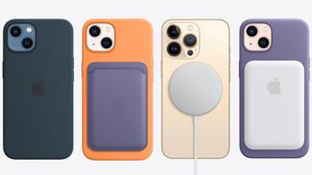 为iPhone 13系列:苹果推出新款 MagSafe 手机壳,内置强吸力磁铁
