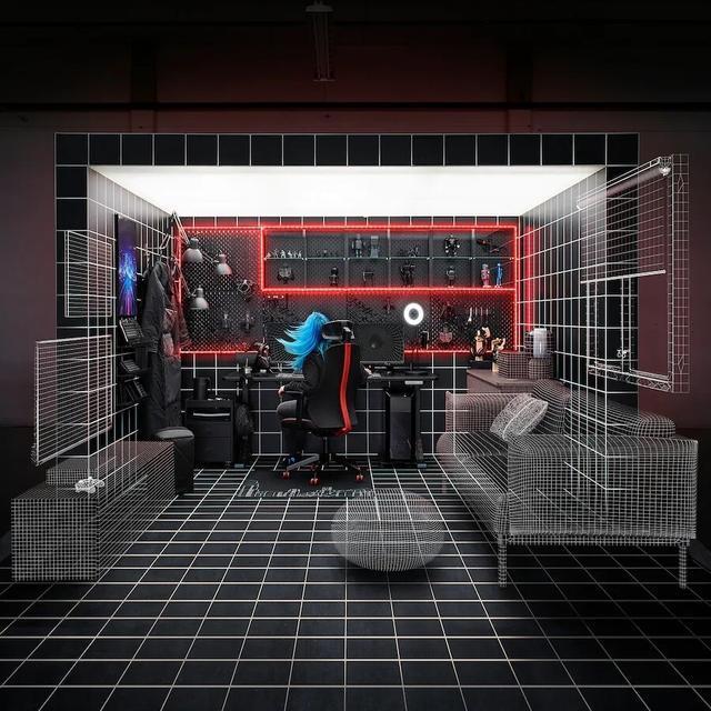 宜家联合华硕 ROG推出电竞家居系列,将于10月登陆美国市场