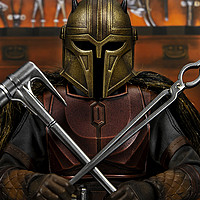 玩转星战 篇六:战力爆表的女铁匠:HotToys星球大战曼达洛人盔甲匠1/6可动人偶