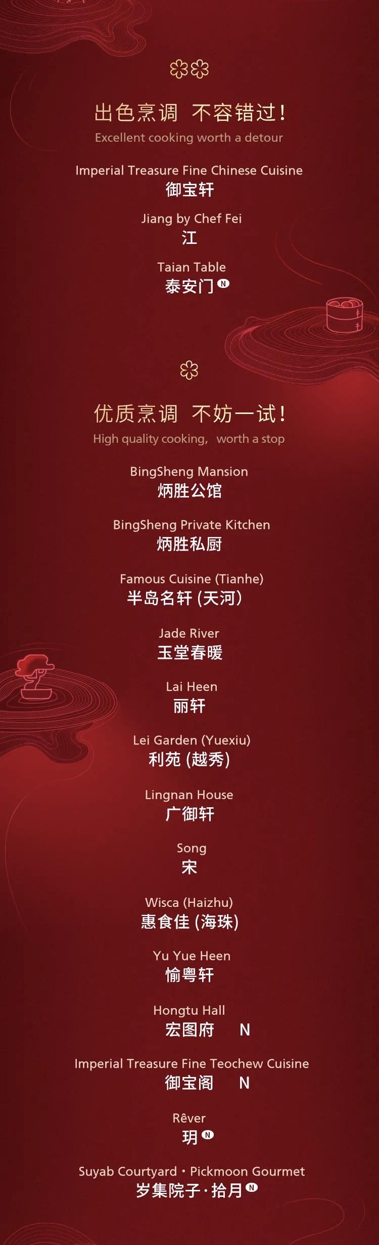 官宣:2021广州米其林指南最新榜单发布!