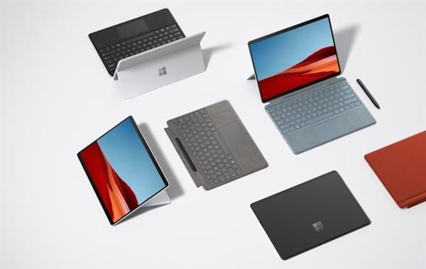 """""""挤牙膏"""",微软还发布新 Surface Pro X 二合一便携平板"""