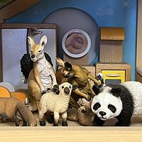 我家里的动物园,思乐等动物手办小记